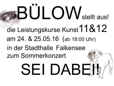 Foto zur Meldung: Bülow stellte aus!