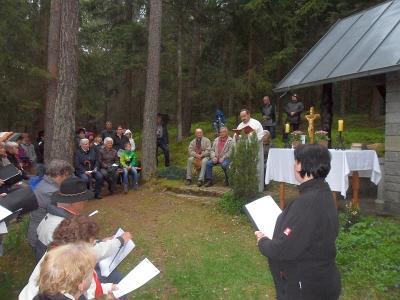 Foto zur Meldung: Bittgang zur Gnaglbergkapelle