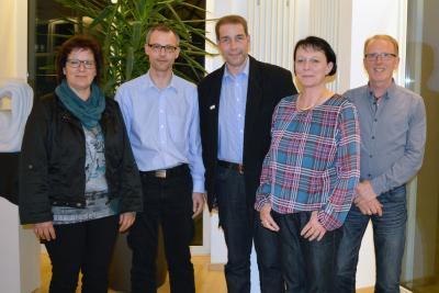 Gerlinde Hartmann, Markus Lofink, Mark Bagus, Carmen Hüttl, Peter Auth