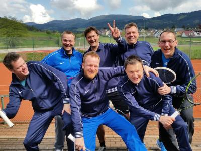 Foto zur Meldung: Tennis (Herren 40) – Trainingslager in Zell am Harmersbach