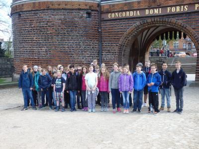 Foto zur Meldung: Klassenfahrt der 6a und 6b nach Lübeck