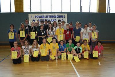 """Foto zur Meldung: 19. KJSS im LK OSL , KDK """"stärkster Schüler"""""""