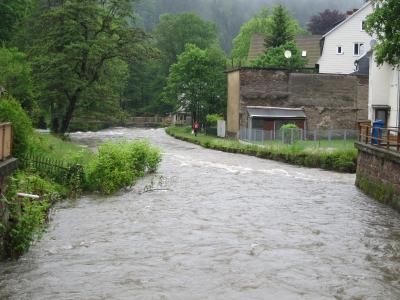 Foto zur Meldung: Ausweisung von Überschwemmungsgebieten in Katzhütte