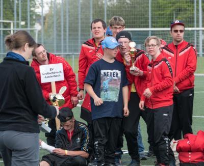 Foto zur Meldung: Special Olympics-Qualifikations-Turnier in Friedrichshafen am 04.05.2016