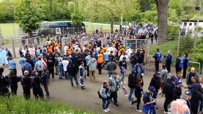 Foto zu Meldung: Auswärtsspiel der Löwen in Frankfurt