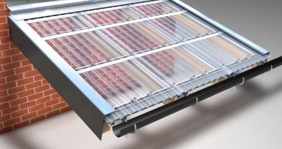 Foto zur Meldung: Profilbleche, Lichtplatten und Dachrinnen des deutschen Herstellers Friedrich von Lien AG