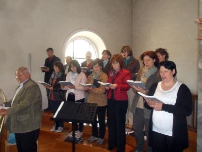 Foto zur Meldung: Pfingstsonntag in der Kirche