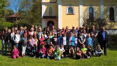 Foto zur Meldung: Erstkommunionausflug der Pfarreiengemeinschaft in der Bayern-Park