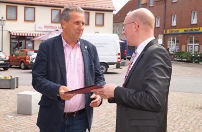 Foto zur Meldung: Christian Pegel Minister für Energie
