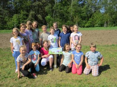 Vorschaubild zur Meldung: Eine Schmetterlingswiese für den Rolandpark