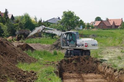 Foto zur Meldung: Erschließungsarbeiten am Ratmannsteich