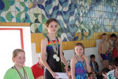 Foto zur Meldung: 19. Kinder- und Jugendsportspiele im Landkreis OSL - Schwimmen in Lübbenau