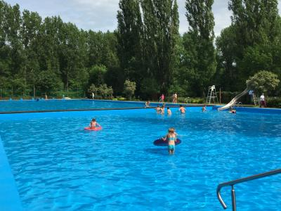 Foto zu Meldung: Badesaison im Waldbad Egeln beginnt