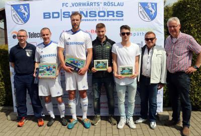 Foto zu Meldung: Landesliga: FC Vorwärts - SpVgg Selbitz 1:2 (1:1)