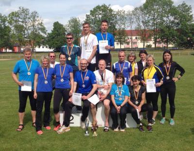 Foto zur Meldung: LG Neiße-Teams werden Sachsenmeister