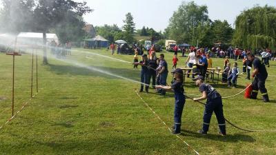 Foto zur Meldung: Erfolgreiches Wochenende der Kinder- und Jugendfeuerwehr