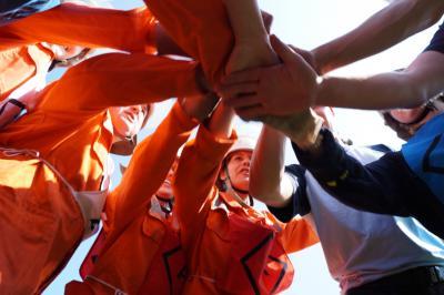 Foto zur Meldung: Feuerwehr nahm mit gemischter Mannschaft am Amtsausscheid teil