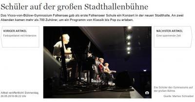 """Foto zur Meldung: Sommerkonzert des """"Vicco"""" in der neuen Stadthalle"""