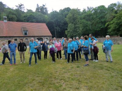 Vorschaubild zur Meldung: Heimatvereine Krüssau-Bandenstein und Grabow auf Tour