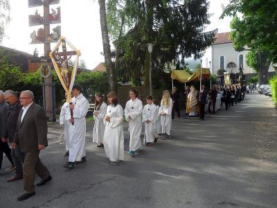Foto zur Meldung: Fronleichnam in der Pfarrei St. Georg