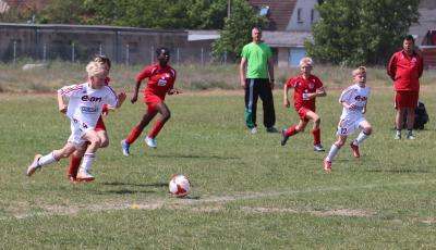 Foto zu Meldung: E-Jugend wahrt Chance auf Kreismeisterschaftsendrunde