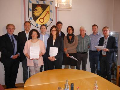 Foto zur Meldung: Windkraftverträge unterzeichnet