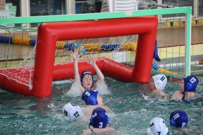 Foto zu Meldung: Bezirkssichtungsturnier Nachwuchs Wasserball
