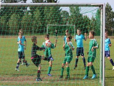 Foto zu Meldung: F Jugend besiegt Nossendorf deutlich