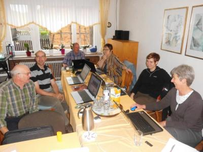 Foto zur Meldung: Schulung der Vereinsredakteure