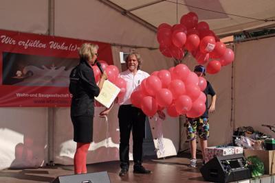 Foto zur Meldung: 1. Calauer Festival mit Vereinsmeile, Buntmenschen und vielen Gewinnchancen