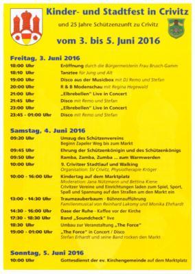 Foto zur Meldung: Kinder- und Stadtfest 2016