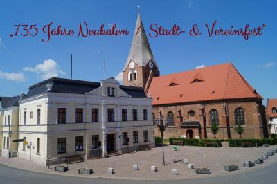 """Foto zur Meldung: Umzug """"735 Jahre Neukalen / Stadt- & Vereinsfest"""""""