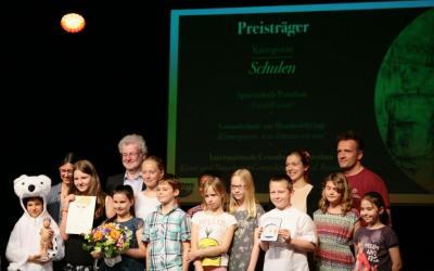 Foto zur Meldung: Sieger in der Kategorie Schulen - Klimapreis der Stadt Potsdam