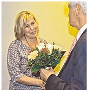Foto zur Meldung: Groß Laasch - Auszeichnung für Susanne Liedtke