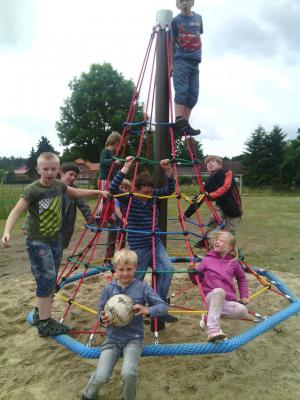 Foto zur Meldung: Groß Laasch - Ferienspiele für Kinder
