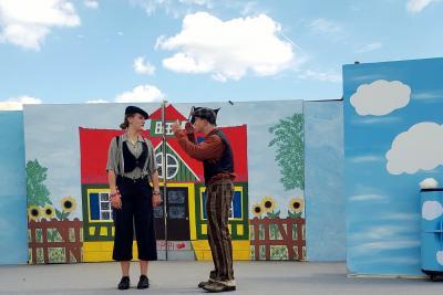 Vorschaubild zur Meldung: Himmelsscheibe von Zielitz trifft Pippi Langstrumpf