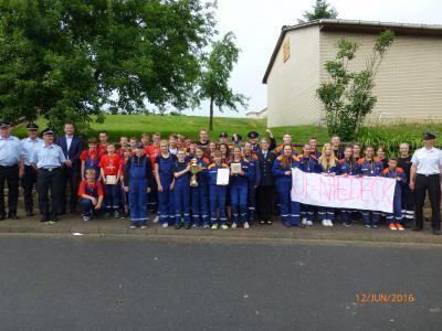 Foto zur Meldung: Bührener Jugendfeuerwehr ist Samtgemeindesieger!