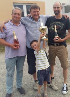 Foto zur Meldung: Billard: Bernd Schnee gewinnt interne Vereinsmeisterschaft