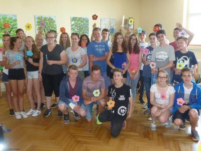 Foto zur Meldung: Integration behinderter Kinder – haut nah !