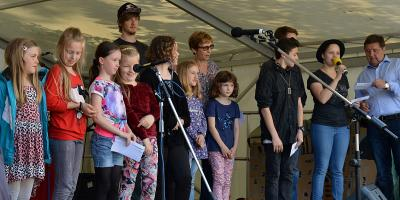 Foto zur Meldung: Integrationsfest