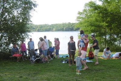 Foto zur Meldung: Eröffnung Badesaison 2016 am Froser See