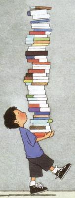 Bücherstapler