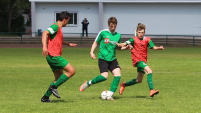 Foto zu Meldung: B-Jugend schließt Landesligasaison mit fünftem Tabellenplatz ab