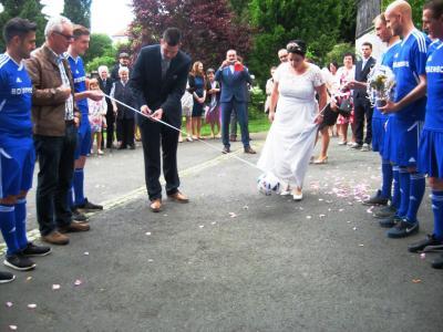 Foto zu Meldung: Christoph Grimm und Katja Oettel im Hafen der Ehe