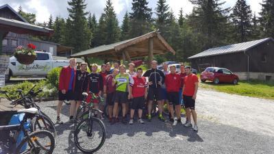 Foto zur Meldung: Fahrradtour zum Seehaus