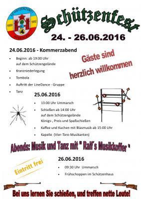 Foto zur Meldung: Schützenfest 2016