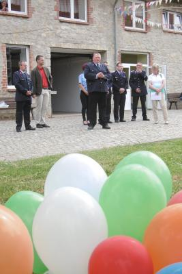 Foto zur Meldung: 55 Jahre Jugendfeuerwehr Gatersleben und 10 Jahre Kinderfeuerwehr Gatersleben