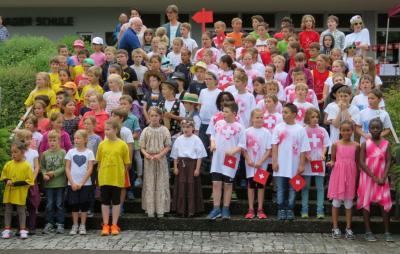 Foto zur Meldung: Schulfest der Grundschule Mundelsheim