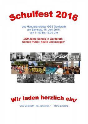 Foto zur Meldung: Schulfest in der GGS Gerderath