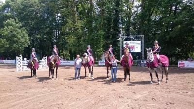 Foto zur Meldung: Kreismeisterschaften der Springreiter des Landkreises MOL am 18./19.06. in Alt Zeschdorf
